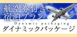 航空券付きダイナミックパッケージ