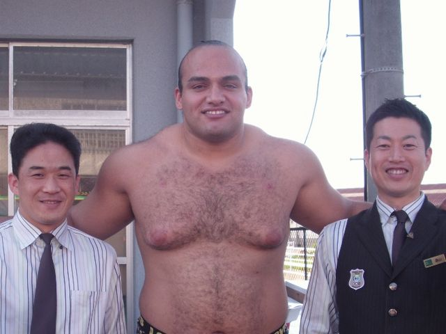 The Otake sumo stable is coming