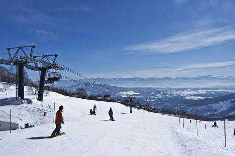 [【ロングコースと充実したパークが魅力】杉の原スキー場リフト券付き宿泊プラン] ロングコースが魅力の杉の沢スキー場