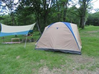 [【1日10組限定】お手軽キャンプでアウトドアライフ♪♪手ぶらでキャンププラン] ドームテント