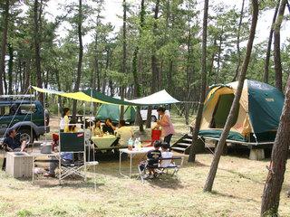 [【夏休みシーズン限定】手ぶらでキャンプBBQ] オート区画サイト(手ぶらでキャンプイメージ)