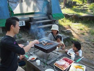 [手ぶらでキャンプIN近江八幡(BBQレギュラー)] 家族でわいわいバーベキュー