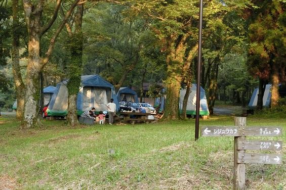 休暇村オートキャンプ場