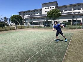 テニスのお、おじさま!?