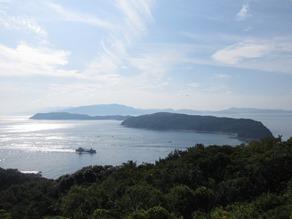 友ヶ島 上から見るか 横から見るか