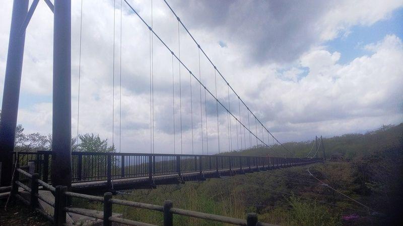全長130m!県内有数の吊橋