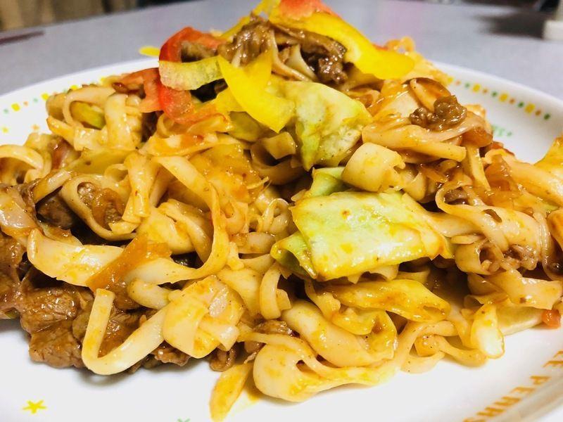 淡路島素麺ふし麺 で 回鍋肉