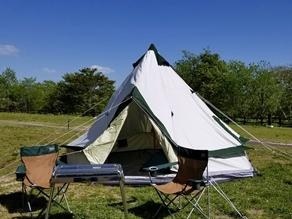 手ぶらでキャンプの新テントを公開!