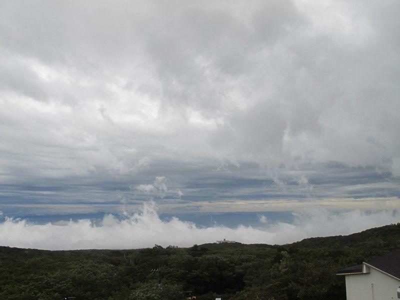 昨日の雲と空