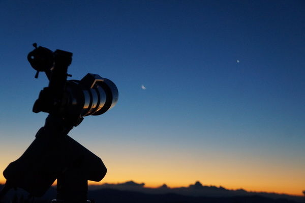 今年最後の星空観察会
