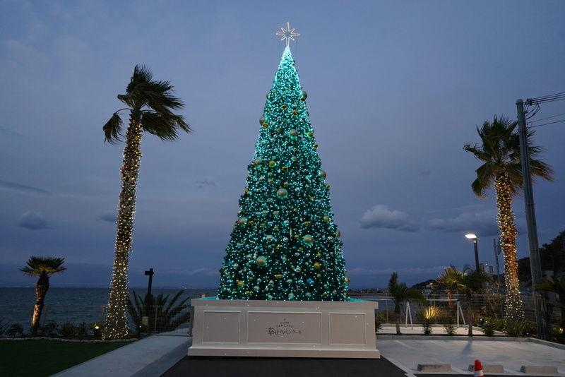 11メートルのクリスマスツリー☆幸せのパンケーキ☆淡路島
