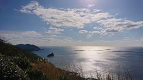 まさに絶景!美しい海が見えるスポット!!