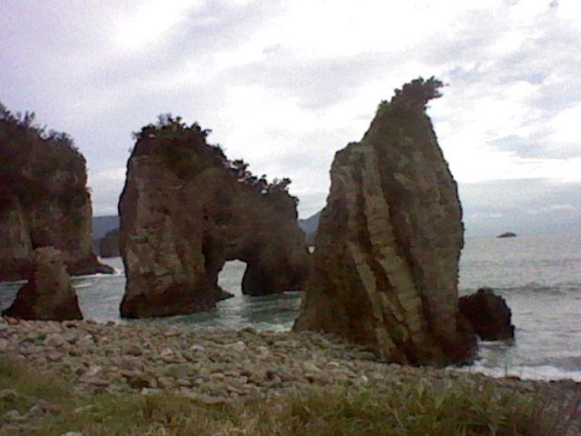 大昔の面影を残す海岸