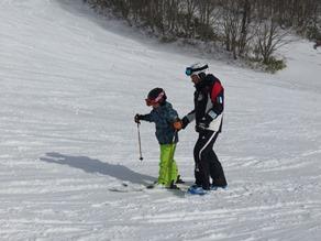 おはよう スキーレッスン