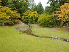 世界遺産の美しさ「毛越寺庭園」