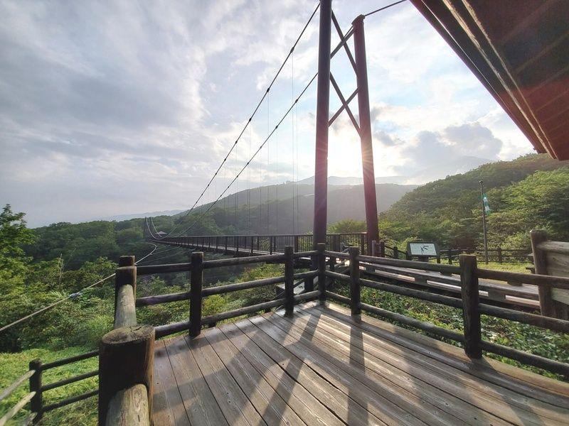 那須が誇る県内有数の吊橋