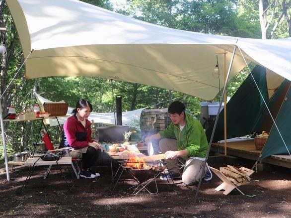 秋こそキャンプ