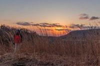 紅葉の前触れ、蒜山高原
