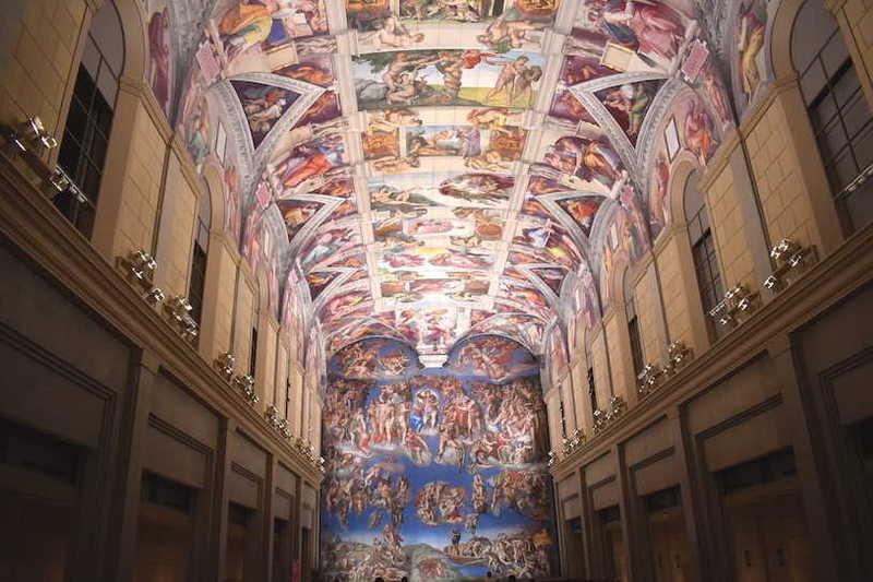 大塚国際美術館で、芸術の秋を楽しもう!