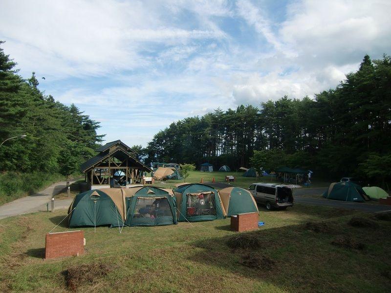 キャンプ場営業再開のお知らせ
