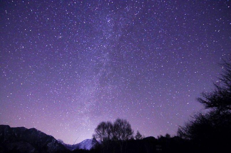 冬の星空をお楽しみください