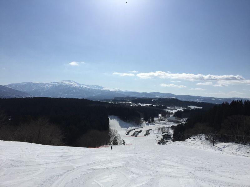 羽黒山スキー場よりお知らせ