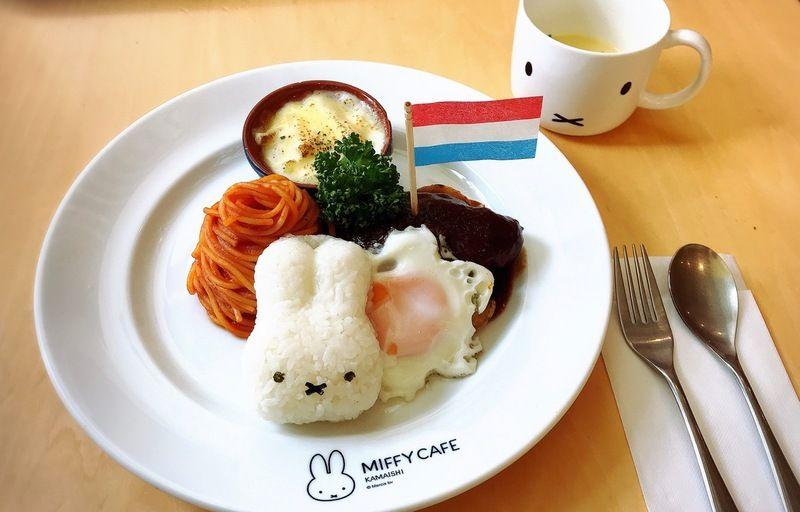 日本唯一の常設ミッフィーカフェ「ミッフィーカフェかまいし」