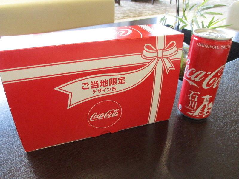 石川限定デザインのコカ・コーラ!