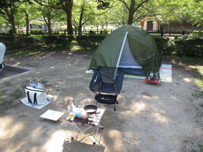 初めてのソロキャンプ in 休暇村紀州加太オートキャンプ場
