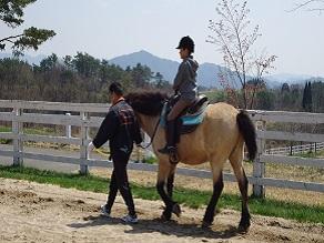 夏の思い出作り!高原で楽しむ引馬体験