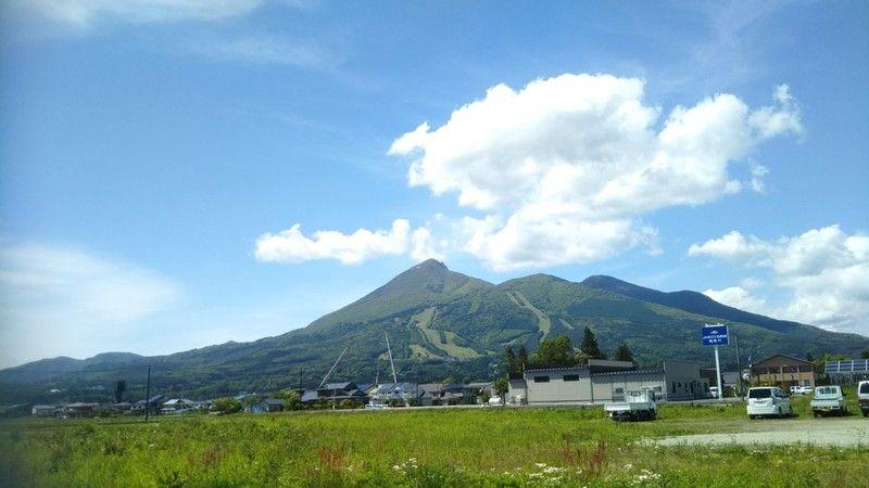 いろんなところから眺める磐梯山!