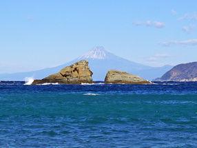 雲見温泉 世界でいちばん富士山がきれいに見える町で