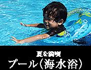 夏を満喫 プール(海水浴)