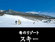 冬のリゾート スキー