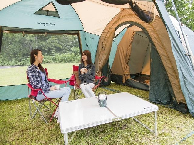 [手ぶらでキャンプ<フリースタイルプラン>(夕食:持込み 朝食:持込み)] いつも以上に会話が弾むゆったりとした時間もキャンプの醍醐味です。