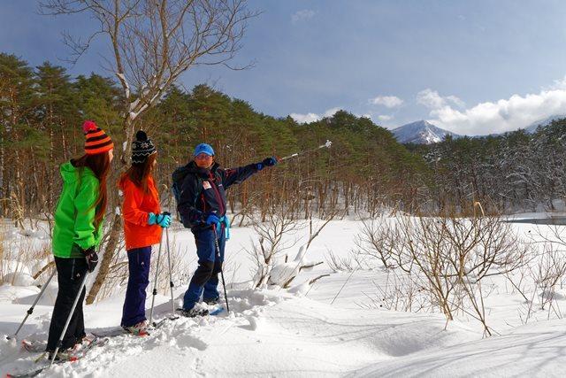 [【泊数が長いほどお得です♪】2019年冬ゆっくり温泉旅4泊滞在プラン] 冬の五色沼を巡るスノーシューツアー(※別料金)