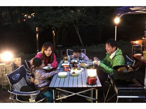 [1日5サイト限定!【手ぶらでも安心】手ぶらでオートキャンプ2018【夕食バーべキュー&ポトフ】] 普段と違った夕食もキャンプの醍醐味です