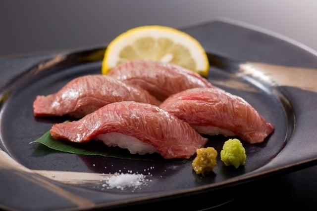 [A5ランク!千葉の銘牛「かずさ和牛」炙り寿司付きビュッフェプラン] かずさ牛炙り寿司