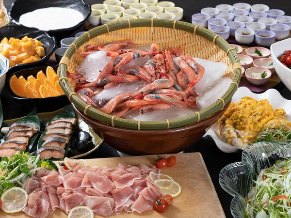 [【全館WiFi完備、BS完備】【スキーシーズン限定】平日1泊朝食付きプラン] 日本海産の海の幸!うまさぎっしり!