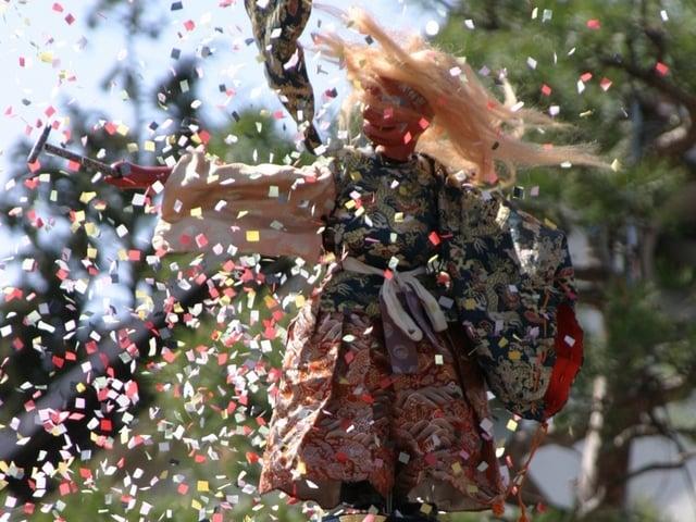 [【観光ツアープラン:旅Q】信州の春・ 山岳観光の目覚め天下第一高遠の桜と春の高山祭アルペンルート・雪の大谷] 高山祭 春は4月14(水)・15日(木)のみの開催です