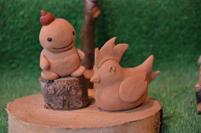 [【コテージで家族団欒♪】まかいの牧場DEものづくり体験プラン] まかいの牧場 ものづくり一例 木の粘土もくねんさん