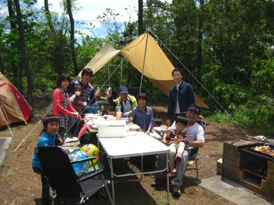 [夕食はバーベキュー♪ ご自慢のテントをお持込で楽々キャンプパック] 自慢のテントを持ち込んでの楽々キャンプパック