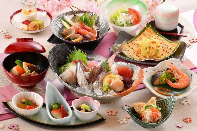 [【気ままなひとり旅】湯っくり満喫!夕食はなぎさコース 4月からの新しいビュッフェをお楽しみください!] 基本夕食:なぎさコース