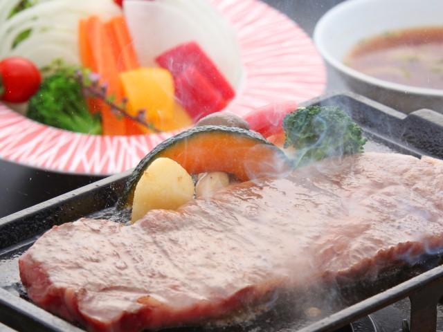 [【東館】近江牛ロースステーキ(200g)コース 夏季限定] 近江牛ロースステーキ