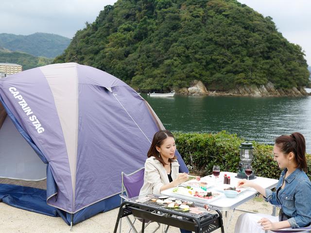 [☆サイトに AC電源、水道 完備!☆テントも食事もお風呂もついて安心♪(タオル・バスタオル・歯ブラシもついてます!)手ぶらでキャンププラン] 手ぶらセット