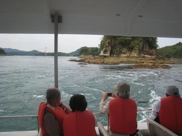 [瀬戸内海クルージングツアー 村上水軍ゆかりの地をめぐる海賊ツアー] 村上水軍の本拠地 能島「潮流体験」