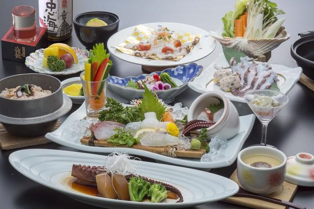 [大久野島名物料理!「タコ会席」~会席プラン~] 大久野島の歴代料理の中で人気NO1