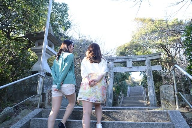 [【Q会員様限定】ゆったりのんびり連泊プラン~志賀島紀行~2泊4食] 【志賀海神社】階段をのぼった先に、神秘的な雰囲気漂う境内が待っています。