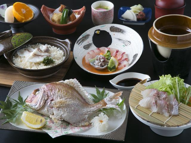 [【Q会員様のお得な割引もございます!】日本一鯛が獲れる長崎・春の鯛会席] 春の旬菜プレミアム~鯛尽くし~