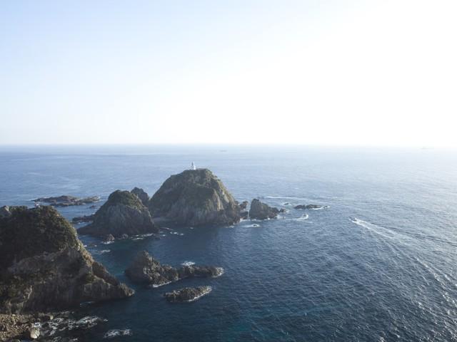 [【旅Q】日本本土最南端の最果て「佐多岬」、JR最南端駅「西大山駅」W最南端を巡る旅!] もう少しで世界の最果てに手が届きそう、日本本土最南端「佐多岬」
